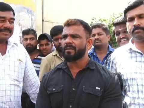 Davangere JN Srinivas 28 Ward Congress Corporator 2020