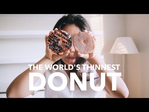 The World's Thinnest Donut!? 🍩