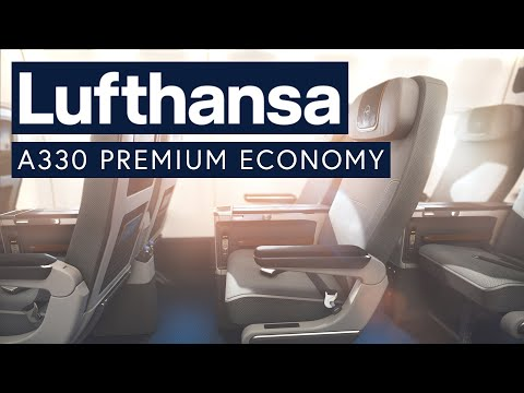 Lufthansa A330 Premium Economy - Riyadh To Frankfurt