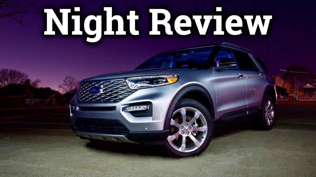 Ambient Lights Adaptive Lights More 2020 Ford Explorer Night