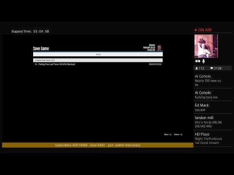 GTA  Late Stream 08/13/17