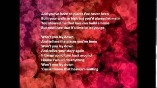 ELLA HENDERSON Lay Down Lyrics