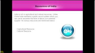 Resources of India
