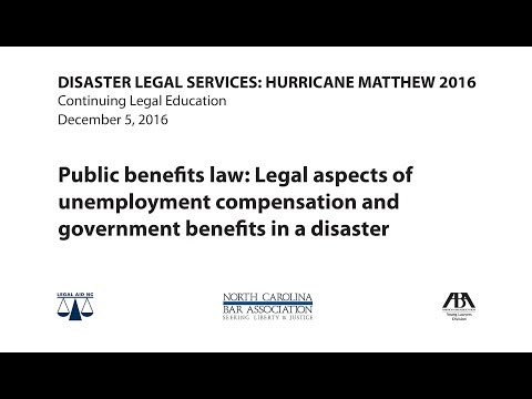 Public benefits law
