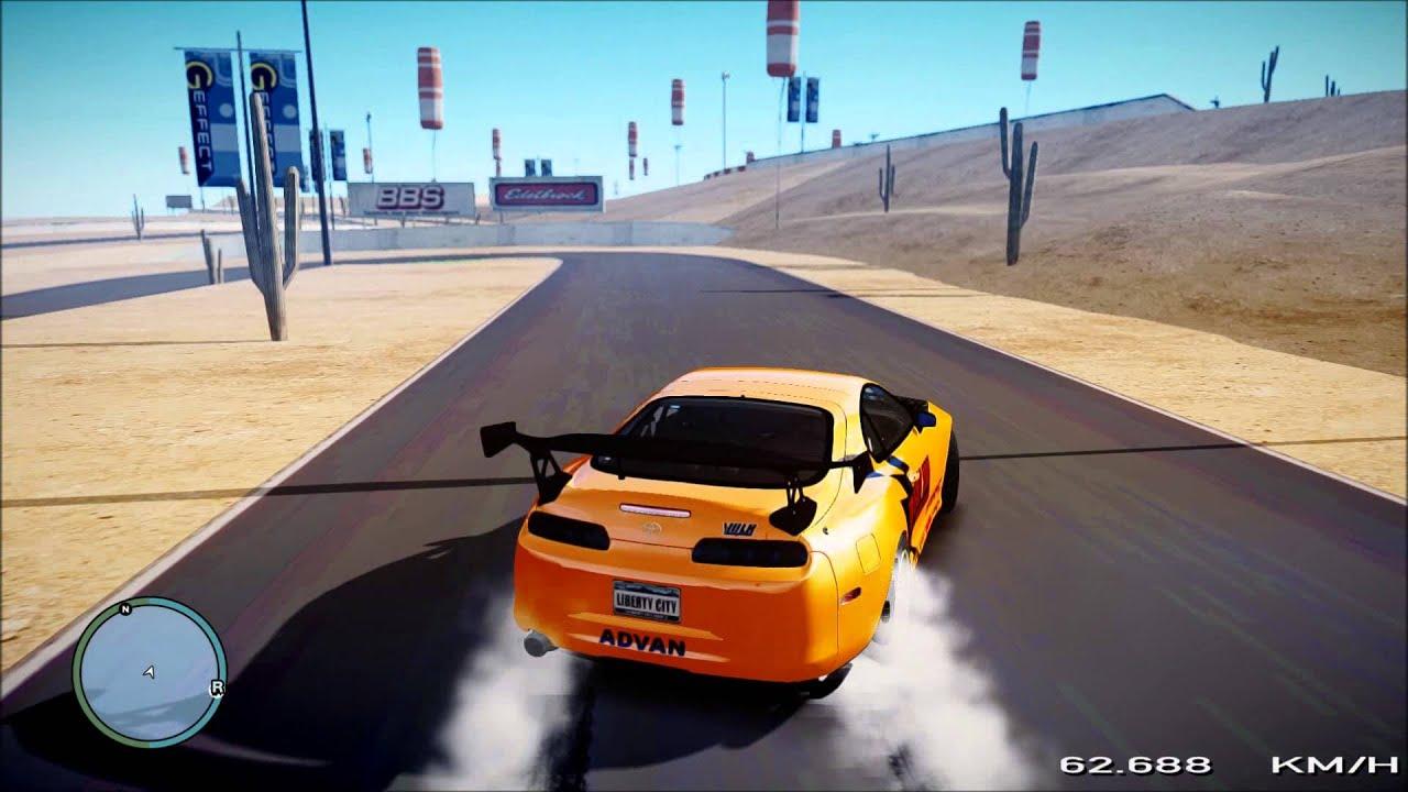 Gta 5 Toyota Supra >> Toyota Supra Drift (Gta IV) - YouTube