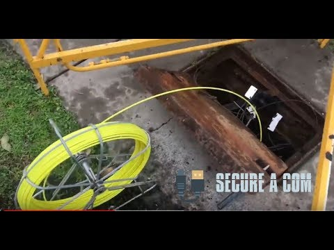 Basic NBN Lead In Cable Installation For FTTC Or FTTN Service
