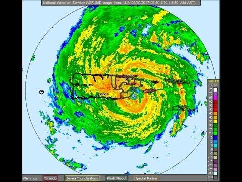 HURRICANE MARIA MAKES LANDFALL IN PUERTO RICO AS A CATEGORY 4 LONG RANGE EAST COAST UNCERTAINTY