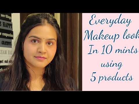 Everyday Makeup Look In 10 Mints 😍