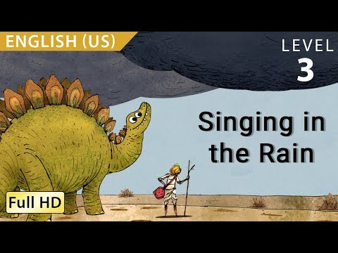"""Singing In The Rain: Learn English (US) With Subtitles - Story For Children And Adults """"BookBox.com"""""""
