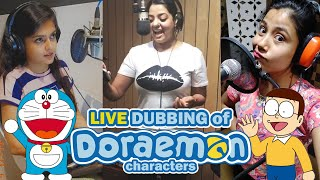 LIVE DUBBING of all DORAEMON characters