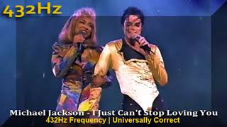 Michael Jackson - I just can't stop loving you 432hz Frequency | 432 hz conversion (a=432hz)