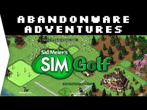 A Classic! - Sid Meieru0027s SimGolf ► Old Nostalgic Golf Management Sims - [Abandonware Adventures]