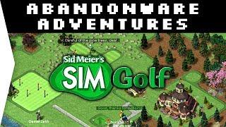 A Classic! - Sid Meier's SimGolf ► Old Nostalgic Golf Management Sims - [Abandonware Adventures]