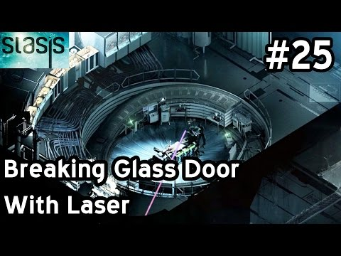 STASIS Walkthrough Let's Play Part 25 - Breaking Glass Door With Laser - PDA Dr. Malan