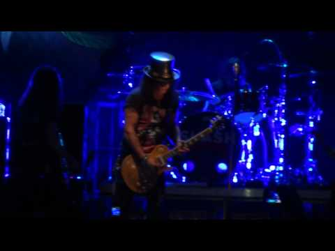 Slash (Myles) – Blues Solo – Godfather Theme – Anastasia – Live NZ Chrischurch 1080p Part 1