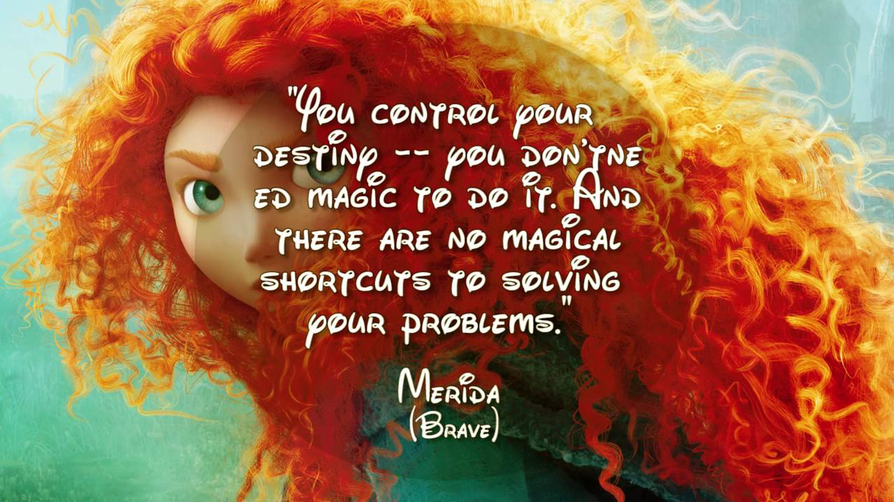 Quotes About Courage From Disney Movies Youtube