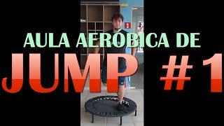 Aula de Jump para Perder Barriga com 10 minutos - Aula de Ginástica para Fazer em Casa - Jump #1