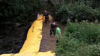 batardeau inondation rivière