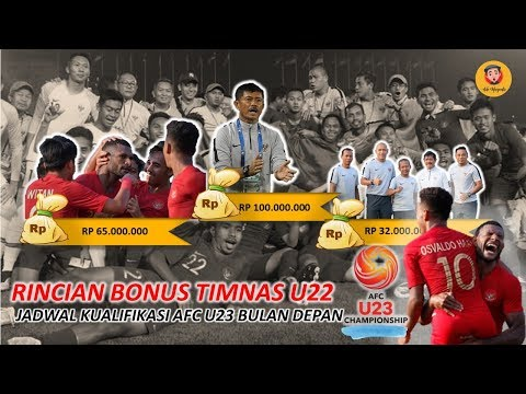2,1M  BONUS TIMNAS U22 JADI MOTIVASI KUALIFIKASI AFC U23