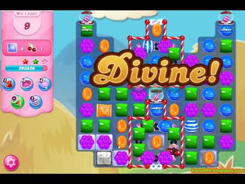 Candy Crush Saga Level 5381 (3 Stars, No Boosters)