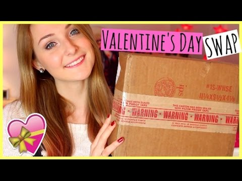 Valentine's Day Swap ♥ Unboxing Haul with LaurenNally09!
