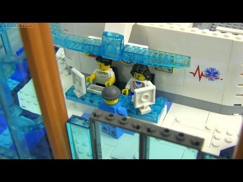 Custom LEGO hospital MOC progress #1