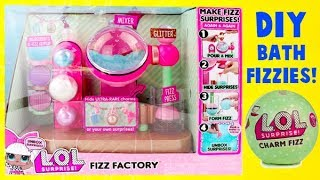 LOL Surprise Dolls DIY Fizz Factory Maker with Charm Toy Surprises