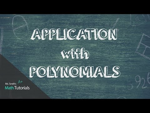 Application With Polynomials