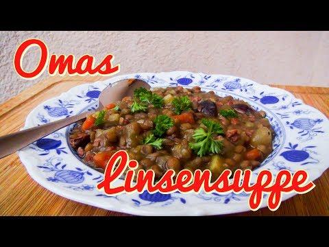 Omas Linsensuppe  nach DDR Rezept