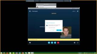 Using Skype For Business To Record Your Screen
