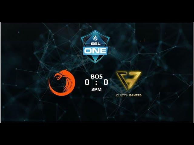 TNC Pro Team vs Clutch Gamers Game 5 Grandfinals (BO5) ESL One Genting