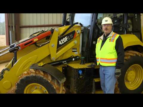 Fuel System Maintenance - Maintenance Practices For Cat® F2 Backhoe Loaders (North America)