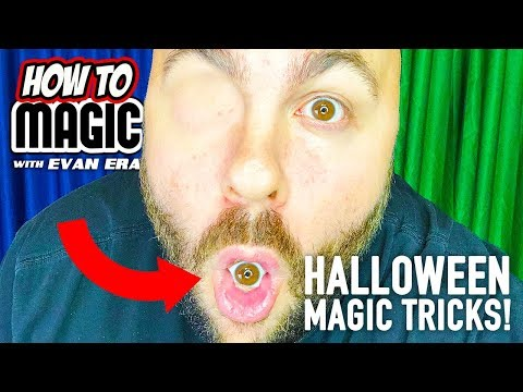 7 Halloween Magic Tricks You Can Do