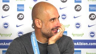 Pep Guardiola's Full Post Match Press Conference After Winning Premier League! Brighton 1-4 Man City