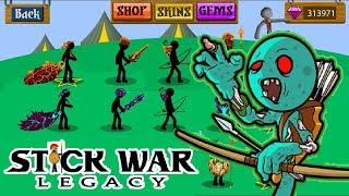 Yeni Skinler ile Zombi Mod   Stick War Legacy