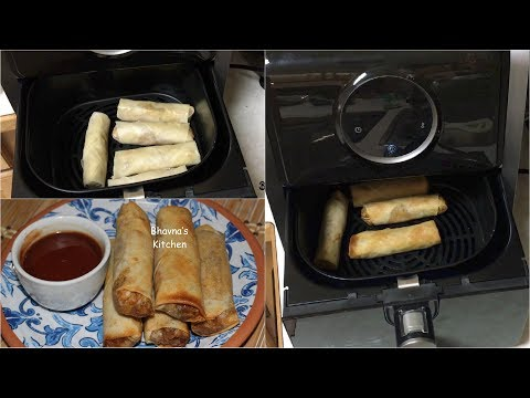 How about use Bestek Air Fryer to make Spring Rolls? Video Recipe | Bhavna's Kitchen