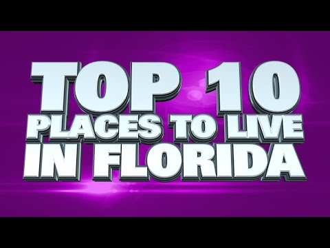 10 best places to live in Florida 2014