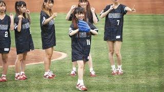 篠塚つぐみ #絶対直球女子 #プレイボールズ 在新莊棒球場.