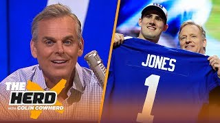 Blame Gettleman for Daniel Jones pick, Colin says 'no more excuses' for Rodgers | NFL | THE HERD