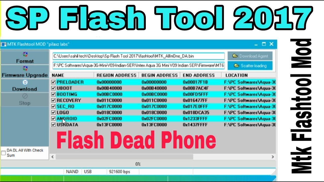 SP Flashtool New Version 2017 | Mtk Flash Tool MOD ...