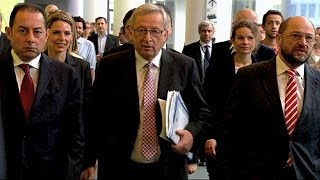 Junker expected to replace Barroso as EC president today