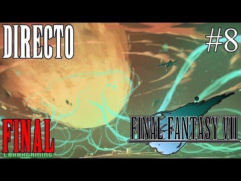 Final Fantasy VII - Guía 100% - Directo #8 Español - Final del Juego - Ending  - Ps4 - Retro