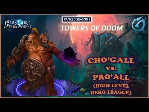 Grubby | Heroes of the Storm | Cho'gall - Hero League - Season 2 - Towers of Doom