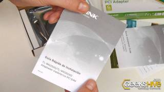 54Mbps Wireless PCI Adapter TL-WN350G TP-Link - Unboxing by www.geekshive.com