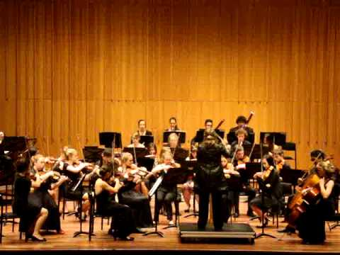 Sibelius Symphony No 1, First Movement, Canberra Youth Orchestra, 16 December 2012