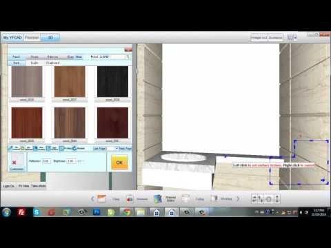 Bathroom tiling design with Ceramic King V8.0 in 10 minutes-02