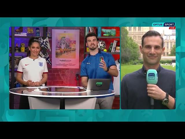 Adriano on Optus Sport (11/07/21)
