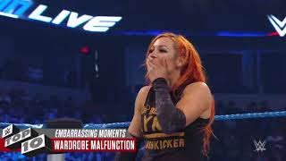 Embarrassing Superstar moments WWE Top 10 Nov  24 2018
