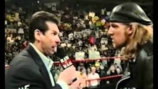 vince mcmahon tells triple h to defend the wwf title against test