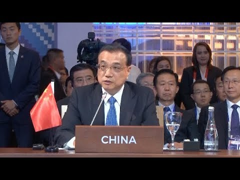 Chinese Premier Calls for Efforts to Build Economic Community in East Asia
